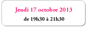 Bouton events 17-10-13